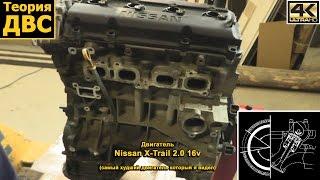 Теорія ДВЗ: Двигун з Nissan X-Trail 2.0 16v (найгірший двигун який я бачив)