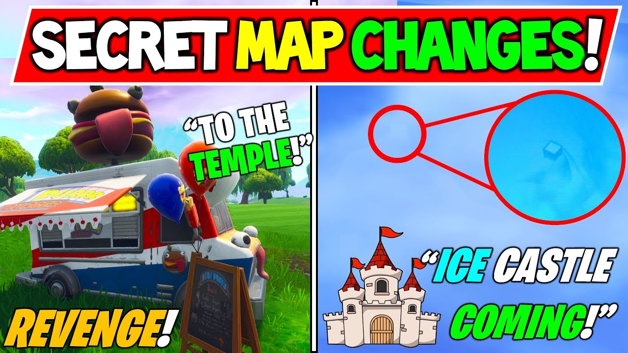 New Fortnite Secret Map Changes Iceberg Castle Found Season 7
