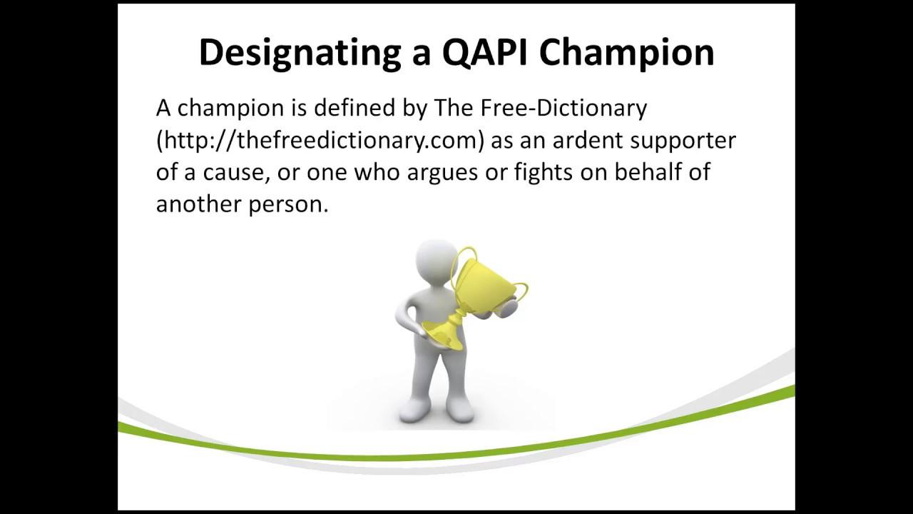 QAPI Nursing Home QAPI Video Training