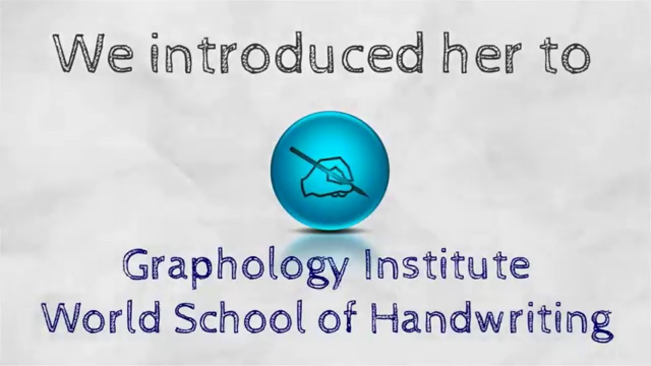 Welcome to Graphology Institute