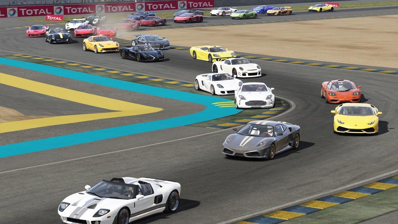 Super Hyper Cars At Le Mans 27 Cars Ferrari Lamborghini Mclaren