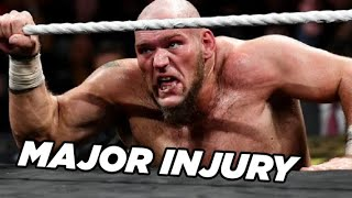 Lars Sullivan Out With Major Injury, WWE Considering London for WrestleMania