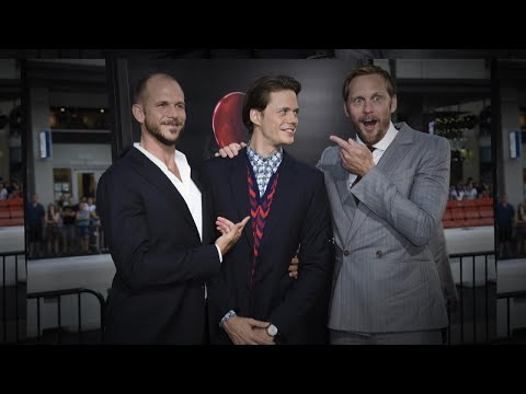 Alexander Skarsgard Scares His Brother Bill at 'It' L.A. Premiere