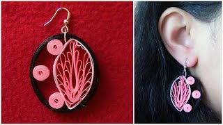 How To Make Quilling Earring Tutorial /Design 31
