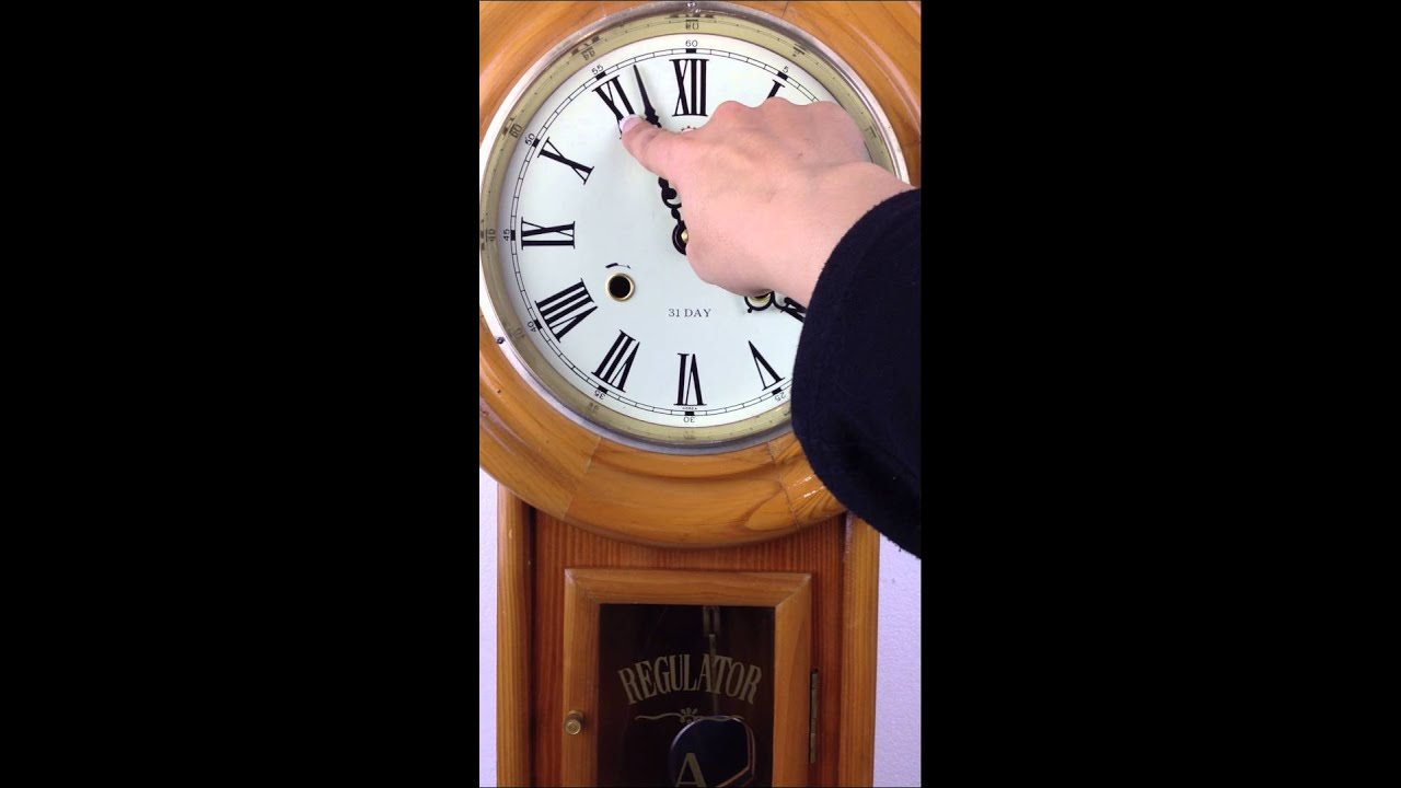 Clock Strike Sound Zenon 31 Day Korea Regulator Pendulum