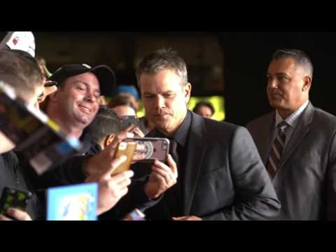 Jason Bourne: Australian Movie Premiere Celebrity Arrivals & Broll - Matt Damon