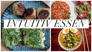 FOOD DIARY. INTUITIV ESSEN. AVOCADO SUCHT, BURGER UND SMOOTHIES. GESUND ESSEN OHNE HUNGER (P)