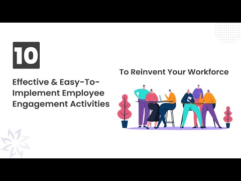 10 Employee Engagement Activities that Work - Vantage Circle