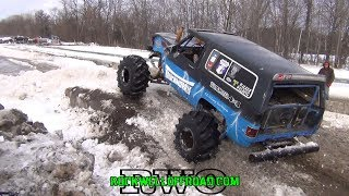 TRUCK NORRIS SNOW DAY 4x4 BOGGING!!!