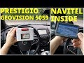 Навигатор Prestigio GEOVISION 5059 - обзорное тестирование (4k)