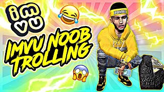 IMVU NOOB TROLLING! STUCK UP HOE GETS MAD FOR FLIRTING WITH THICK DUMB GIRL