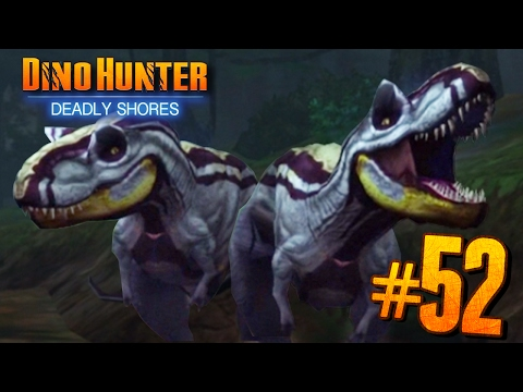 DOUBLE TROPHY HUNTS!! - Dino Hunter: Deadly Shores EP: 52 HD