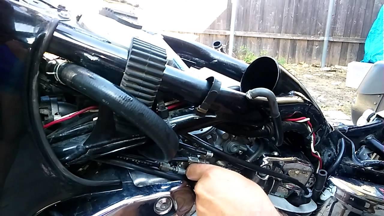 Honda Shadow 1100 carburetor removal  YouTube