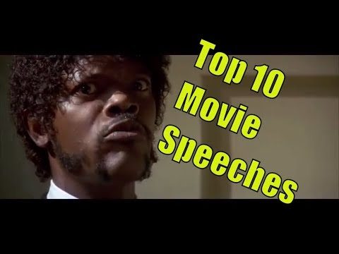 Top 10 Movie Speeches (Full Scenes) - Great Movie Monologues