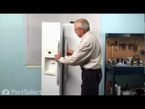 Refrigerator Repair - Replacing the Temperature Sensor (GE Part # WR55X10025)
