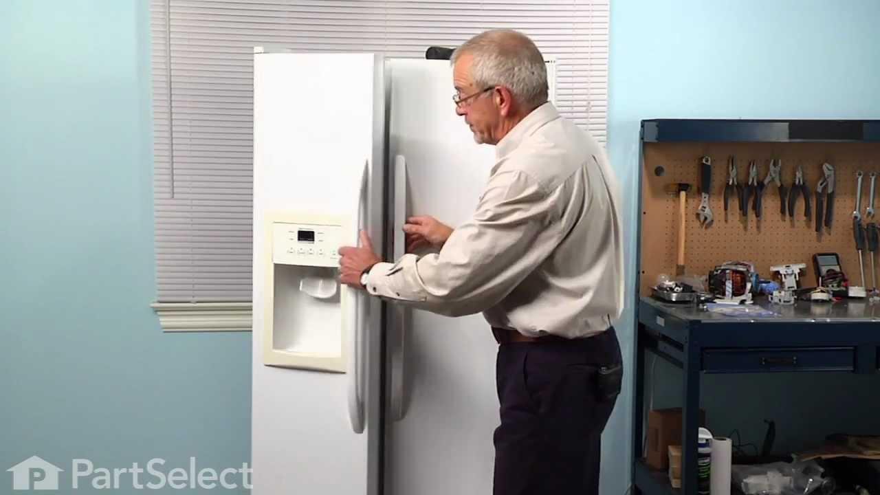 refrigerator repair replacing the temperature sensor ge part wr55x10025 youtube [ 1280 x 720 Pixel ]