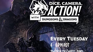 Dice, Camera, Action with Dungeons & Dragons