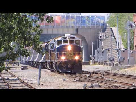 Railfanning Seattle, WA - 7/7/17 - Feat. The BNSF NUCOR Steel Job, The Rocky Mountaineer & More!