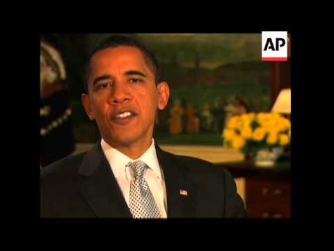 EDIT Weekly address from US President Barack Obama