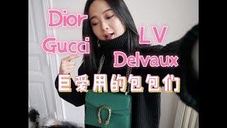 2017年度最最最最爱用的奢侈品包包们|Delvaux|Gucci|LV|Dior