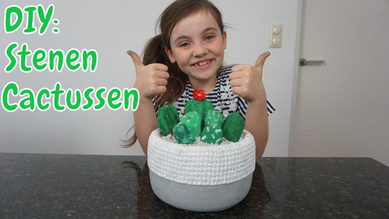 Diy Zelf Stenen Cactussen Maken Knutselen Voor Je Kamer
