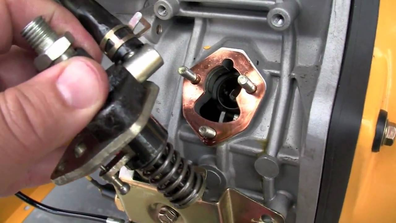 Generator Fuel Pump Service Youtube