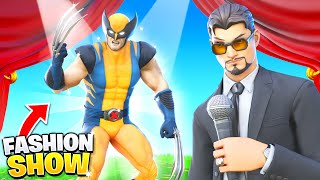 I joined a Fortnite Fashion Show as WOLVERINE!