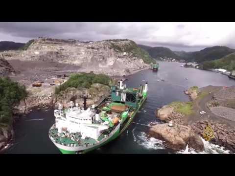 النرويج تنشئ أول نفق للسفن في العالم  - نشر قبل 6 ساعة