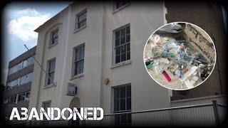 ABANDONED RAF SOCIAL CLUB | Found Drugs and Porn !?!?