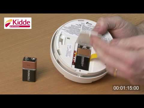 How To Replace Your Smoke Alarm Batteries Youtube