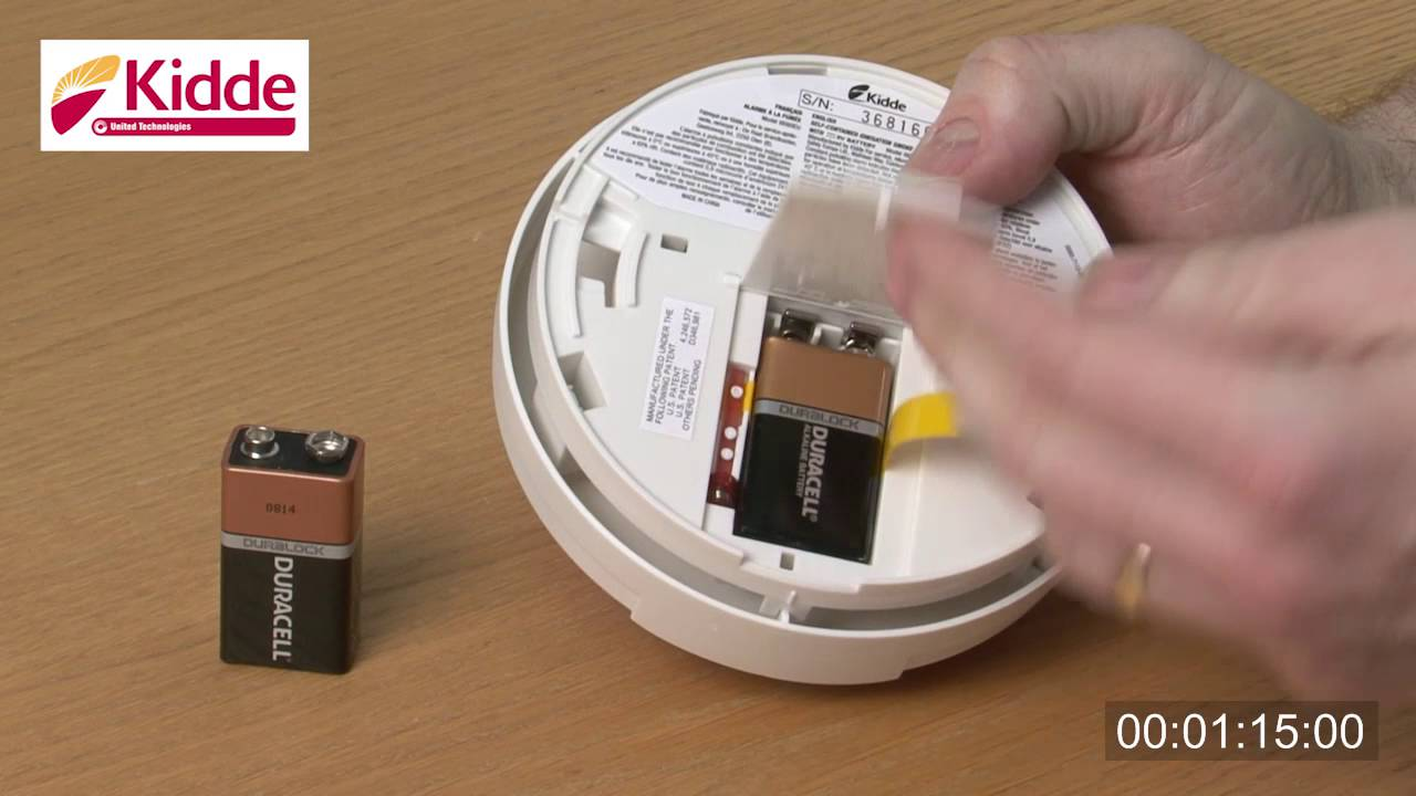 how to replace your smoke alarm batteries youtube. Black Bedroom Furniture Sets. Home Design Ideas