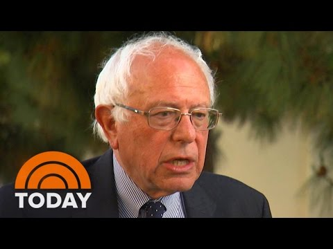 Bernie Sanders: 'Of Course' Democratic Convention Will Be Messy | TODAY