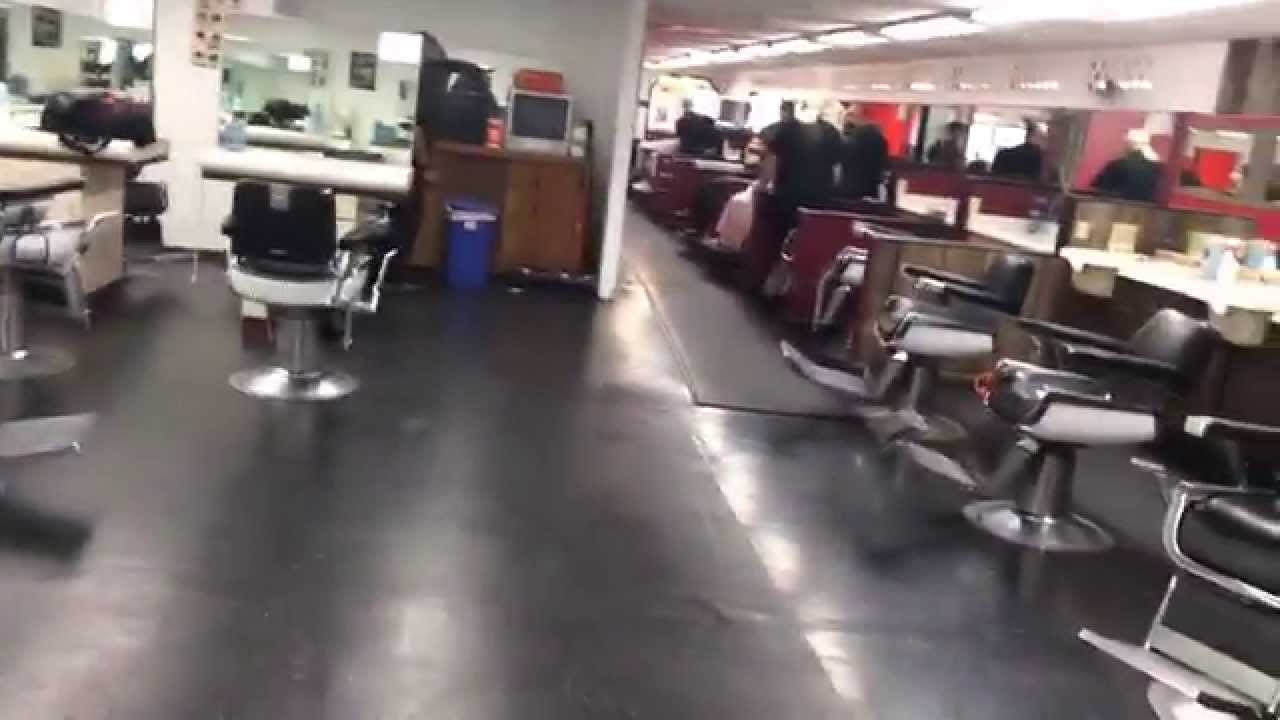 First Look At My Barber School/ Barber College - YouTube