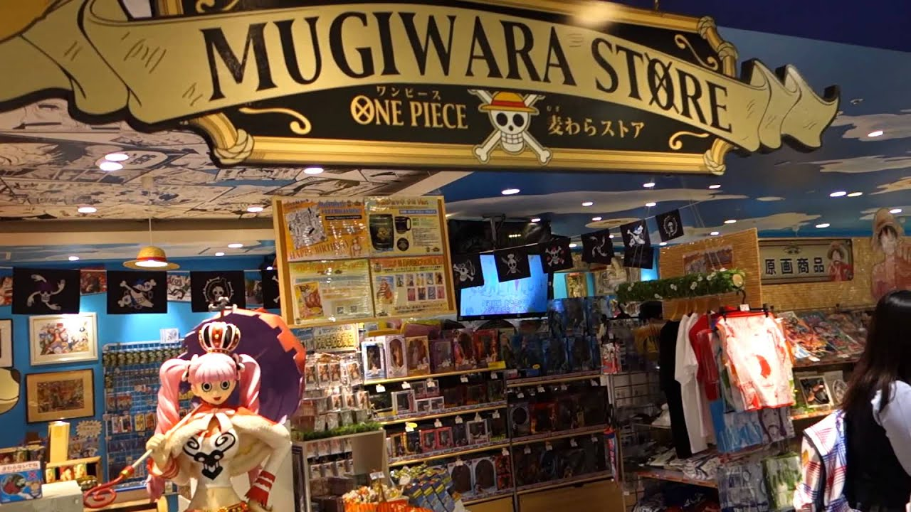 2014 japan trip one piece mugiwara store in shibuya part 1 youtube. Black Bedroom Furniture Sets. Home Design Ideas