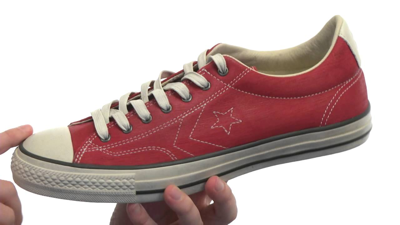 deff4bf24112ea Converse by John Varvatos Star Player EV Ox - One Piece Leather  SKU  8262727 - YouTube