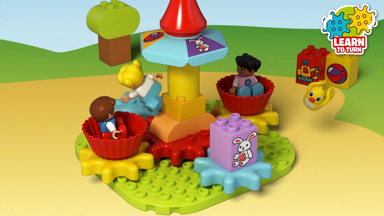 My First Carousel LEGO Duplo 10845 Brand New