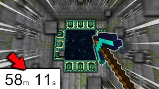 Minecraft, but it's a Speedrun to Beat the Game