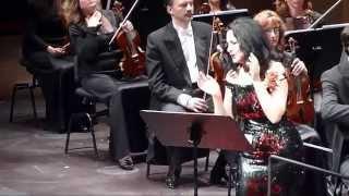 Angela Gheorghiu &quotAnton Pann - Pana cand nu te iubeam&quot Liceu 25042014 - bis 3