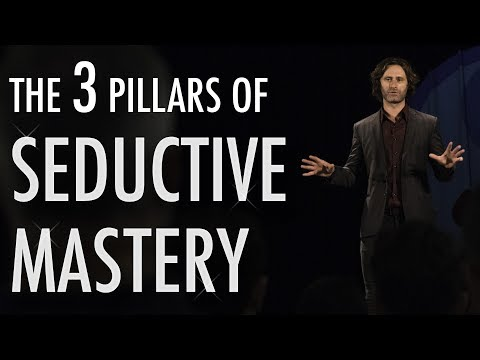 The 3 Pillars of Seductive Mastery - James Marshall epic speech at Masculine Mastermind Conference