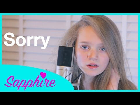 Sorry - Justin Bieber - Cover By 12 Year Old Sapphire | 24 Days Of Sapphire