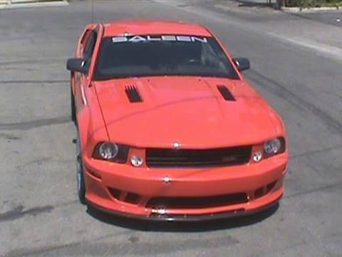 Ford Mustang Saleen >> Ford Mustang, Saleen Extreme Supercharged - Cool Cars, Hot ...