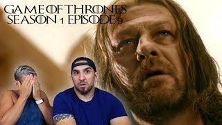 Game of Thrones Season 1 Episode 9 'Baelor' REACTION!!