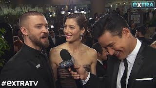 Jessica Biel & Justin Timberlake's Date Night at Golden Globes 2018
