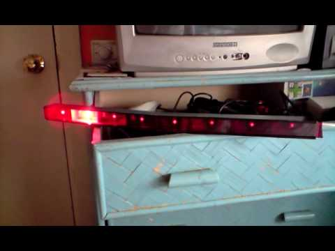 Homemade Scanner Knight Rider With 5w Ultra Bright Led