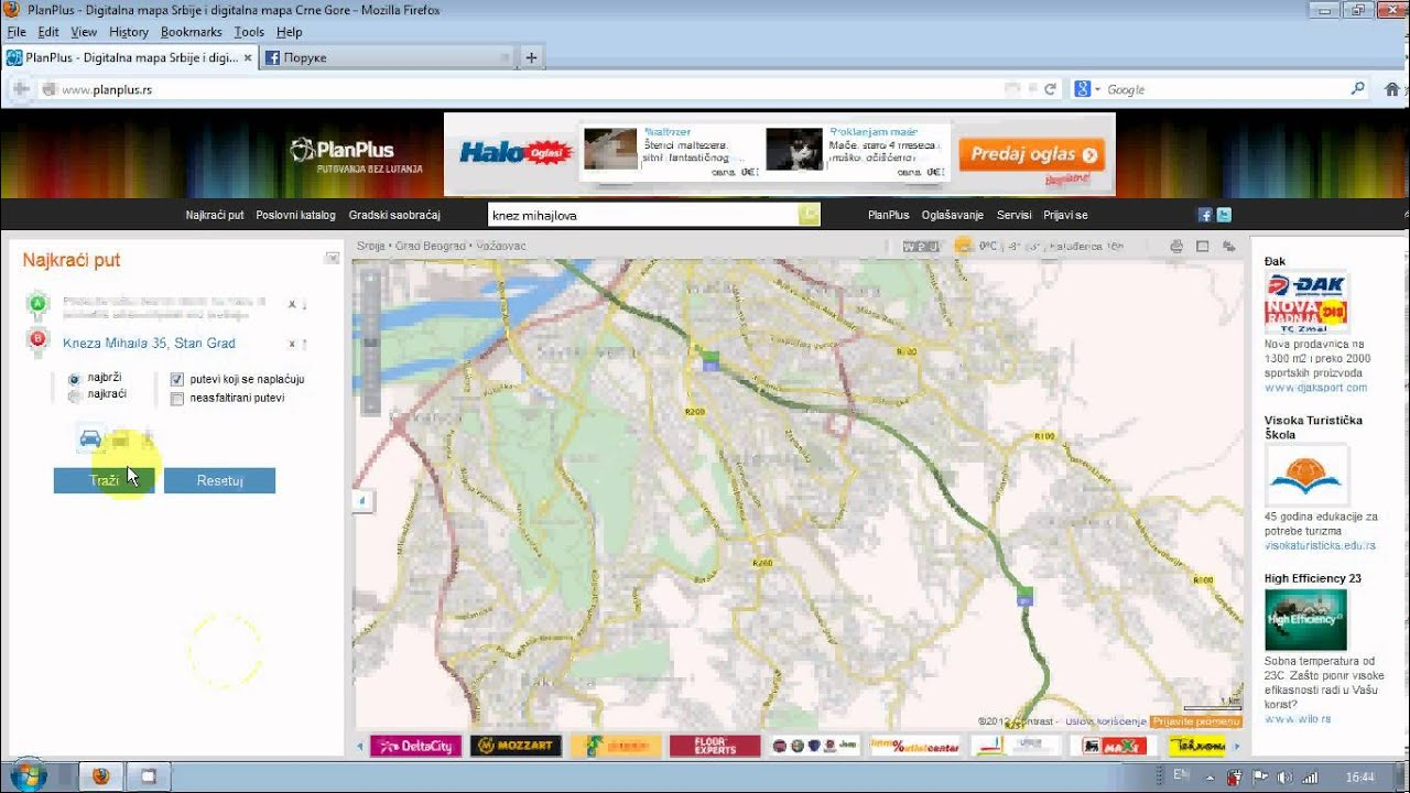 plan plus mapa Kako naći bilo koju ulicu u Srbiji (Plan Plus)   YouTube plan plus mapa
