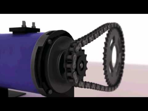 Electric Motor Drive Chain Animation Wire Parameters Youtube