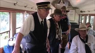 Whitewater Valley Railroad Wild West Train Robbery with Circle D Rangers