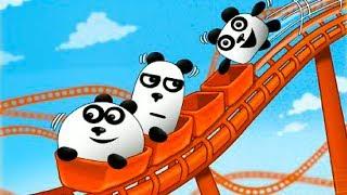 ТРИ ПАНДЫ Мультик игра приключение на острове Фантазий веселое развлекательное видео для детей #КИД