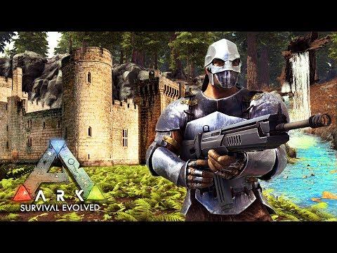 ARK: Survival Evolved -  ULTIMATE BASE BUILDING!! (ARK Ragnarok Gameplay)