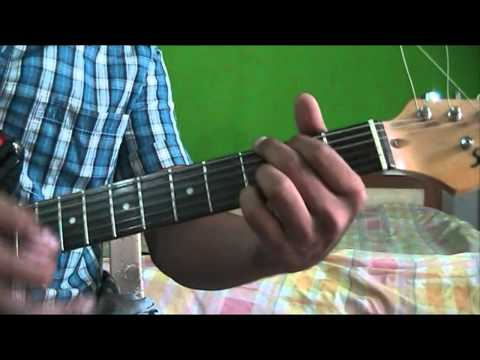 Guitar likhith kurba guitar tabs : Challa guitar lesson, intro solo tabs, chords - YouTube